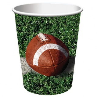 8 Becher American Football Superbowl Party