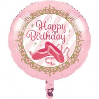 Prima Ballerina Geburtstags Folien Ballon