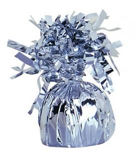 Ballongewicht Folie Silber