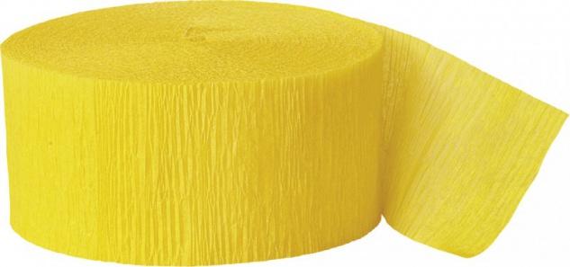 Krepp Band Sonnenblumen Gelb