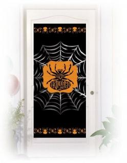 Halloween Spinnen Tür Poster