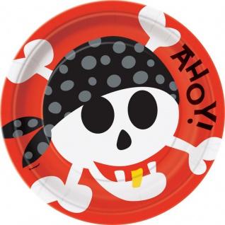 8 Teller Piraten Spaß
