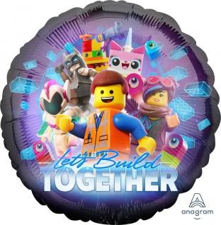 Folien Ballon Lego Movie 2 Abenteuer im Weltraum