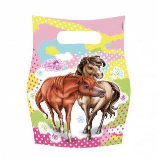 6 Pferde Partytüten Charming Horses