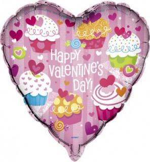 Valentins Folien Ballon