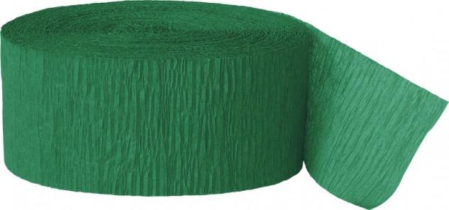 Krepp Band Gras Grün