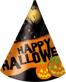 6 Happy Halloween Hütchen