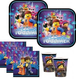 48 Teile Lego Movie 2 Abenteuer im Weltraum Party Deko Set 16 Kinder