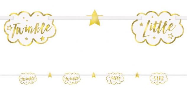 XXL 51 Teile Dritter Geburtstag Deko Set Twinkle little Star in Rosa und Gold 8 Personen 3. Geburtstag - Vorschau 5