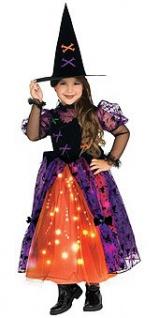 hübsche Hexe Leucht Kostüm 2. Wahl
