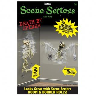 2 Wandposter Skelett