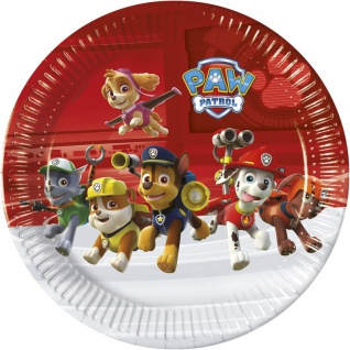 8 Teller Paw Patrol Ready for Action