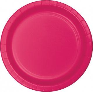 36 Teile Party Deko Set Pink Magenta für 8 Personen - Vorschau 2