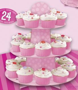 Rosa Muffin Etagere - Vorschau 2