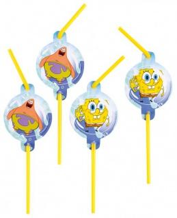 8 Spongebob Trinkhalme