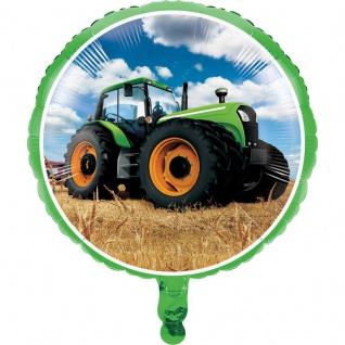 Folien Ballon Traktor Party