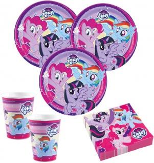 36 Teile My Little Pony & Friends Party Deko Set für 8 Kinder