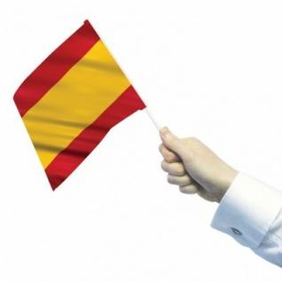 10 Papier Flaggen Fähnchen Spanien - Vorschau 2