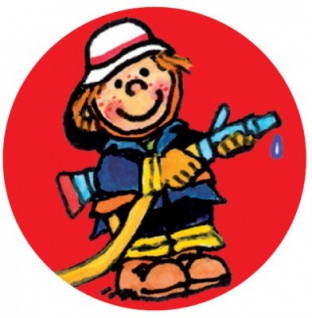 Mini Button Feuerwehr Junge