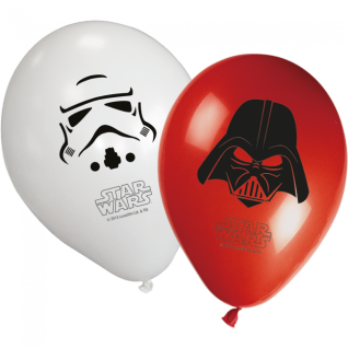 6 Star Wars Luftballons