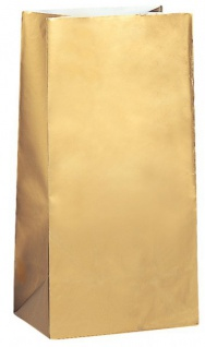 30 goldene Papiertüten