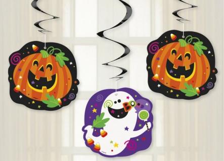 3 hängende Girlanden fröhliches Halloween