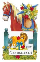 Pferd Geschenk Aufklebefigur