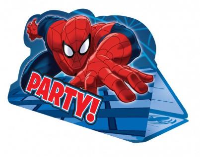 Spiderman Web Warriors Party Deko Auswahl Set - Vorschau 3