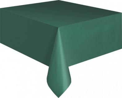 Plastik Tischdecke Waldgrün