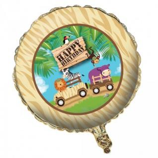 Safari Abenteuer Folien Ballon