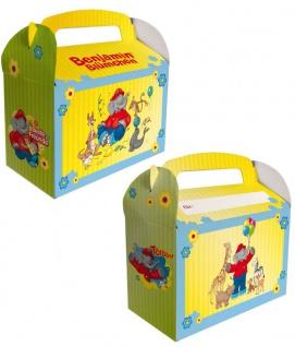 6 Benjamin Blümchen Geschenk Boxen