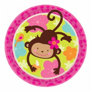 8 Monkey Love Party Teller