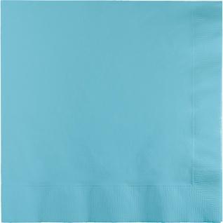 50 Servietten Pastell Blau