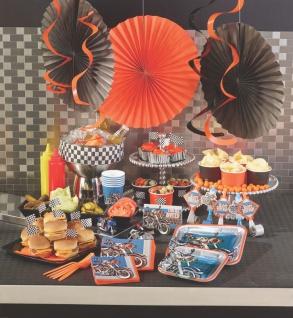 8 Party Tütchen Biker Party - Happy Birthday - Vorschau 3