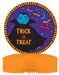 Halloween Tischaufsteller Vampir + Fledermaus