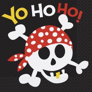 16 Servietten Piraten Spaß