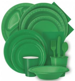 Runde Plastik Tischdecke Gras Grün - Vorschau 3