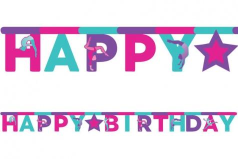 Geburtstags Girlande Turnen