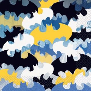 16 Batman Servietten