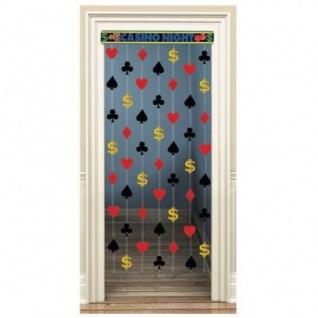 Poker Party Tür und Wand Dekoration