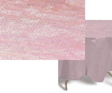 Runde Tischdecke Rosa Irisierend 208cm