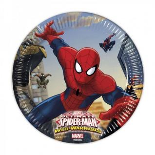 Spiderman Web Warriors Party Deko Auswahl Set - Vorschau 5