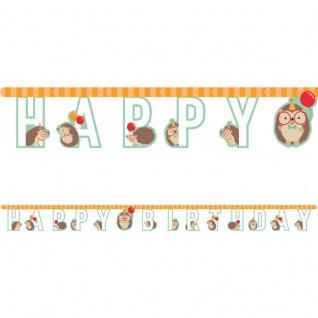 Geburtstags Girlande kleiner Igel