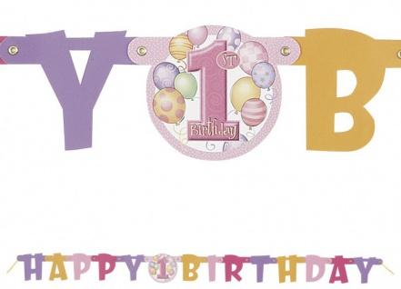 Erster Geburtstag Girlande