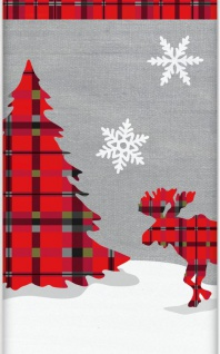 Tischdecke Weihnachten Rustikal