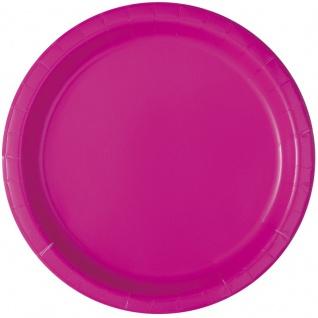 50 Teile Party Deko Set Neon Pink für 14 Personen - Vorschau 2