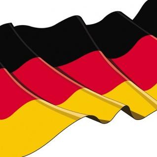 20 Servietten mit Deutschland Flagge