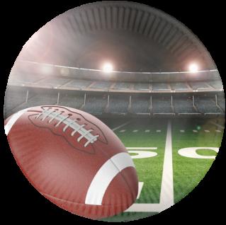 56 Papp Teller - American Football Superbowl Party