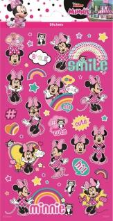 1 Bogen Minnie Maus Papier Sticker