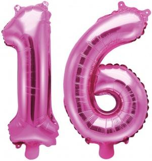 XL 36 Teile 16. Geburtstag Pink Dots Party Set 8 Personen - Sweet Sixteen - Vorschau 5